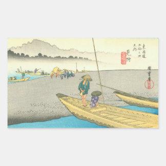 Mitsuke Rectangular Sticker
