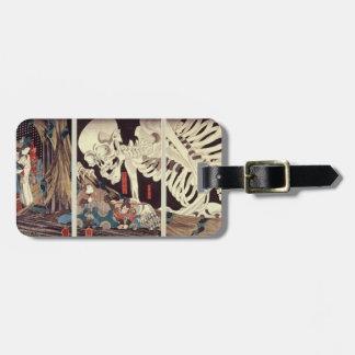 Mitsukini Defying the Skeleton Spectre, c.1845 Bag Tag