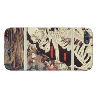 Mitsukini Defying the Skeleton Spectre, c.1845 iPhone 5 Case