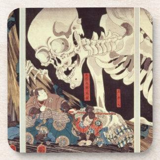 Mitsukini que desafía el espectro esquelético, c.1 posavasos de bebida