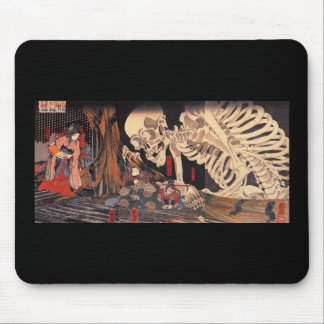 Mitsukuni Defying the Skeleton Specter Mousepads
