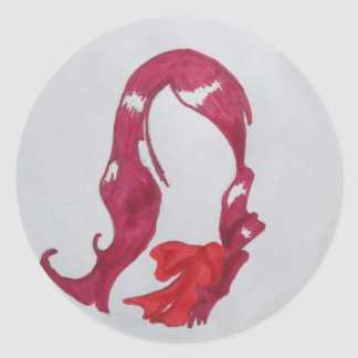 Mitsuru Kirijo Classic Round Sticker