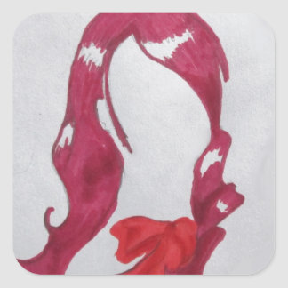 Mitsuru Kirijo Square Sticker
