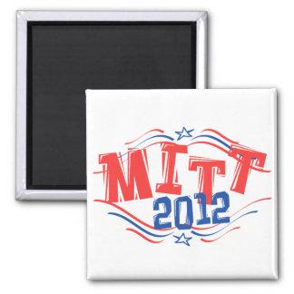 MITT 2012 Patriotic Fridge Magnets