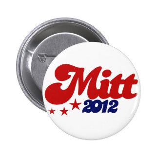 Mitt 2012 pinback buttons