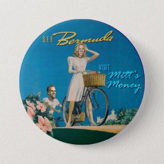 Mitt & Ann Romney Pinback Button