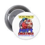 Mitt Chicks Rock! Button