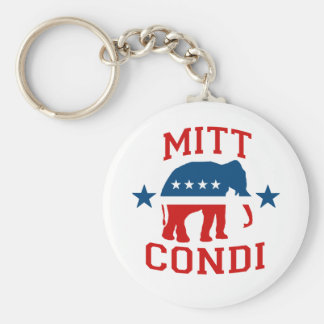 MITT CONDI VP GOP MASCOT png Key Chains