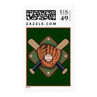 Mitt & Crossbats Stamps