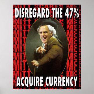 Mitt Ducreux 47 Percent Poster