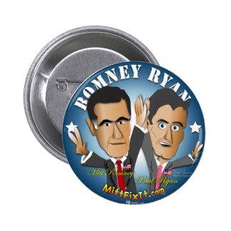 Mitt Fix It - Celebrate Success Pinback Button