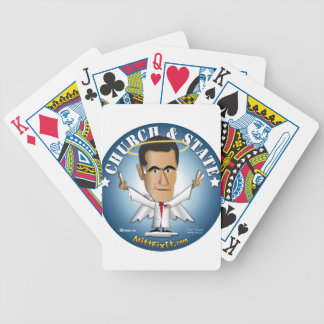 Mitt Fix It - Church and State Bicycle Playing Cards