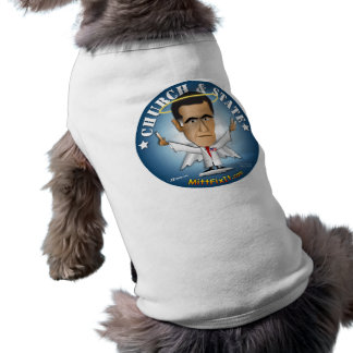 Mitt Fix It - Church and State Doggie Tee