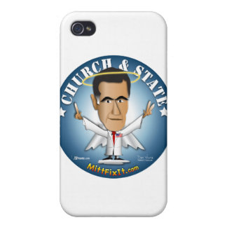 Mitt Fix It - Church and State Case For iPhone 4