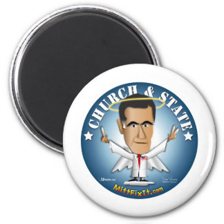 Mitt Fix It - Church and State Refrigerator Magnet