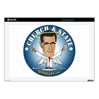 Mitt Fix It - Church and State Laptop Decal