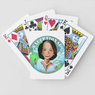 Mitt Fix It - Condi Exceptional Bicycle Playing Cards