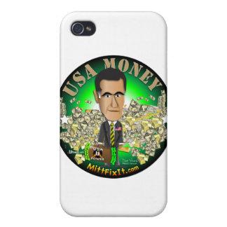 Mitt Fix It - Money iPhone 4/4S Covers