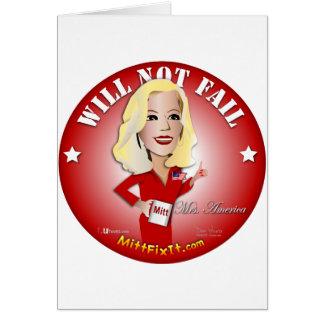 Mitt Fix It - Mrs. America Card