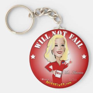 Mitt Fix It - Mrs. America Keychain