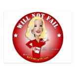 Mitt Fix It - Mrs. America Postcard