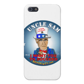 Mitt Fix It - Uncle Sam iPhone 5 Covers