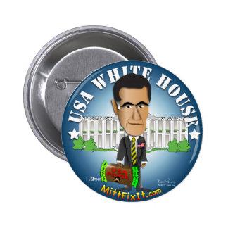 Mitt Fix It - White House 2 Inch Round Button