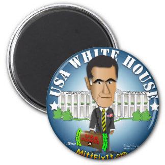Mitt Fix It - White House 2 Inch Round Magnet