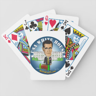Mitt Fix It - White House Bicycle Playing Cards