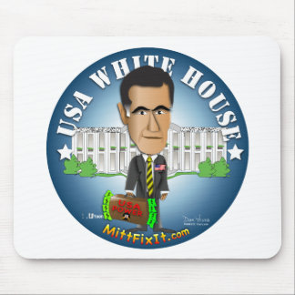 Mitt Fix It - White House Mouse Pad