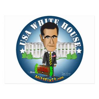 Mitt Fix It - White House Postcard