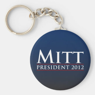 Mitt for President 2012 Keychain