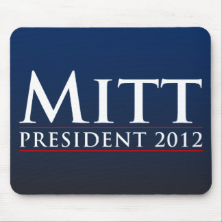 Mitt for President 2012 Mouse Pad