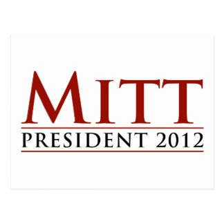 Mitt for President 2012 Postcard