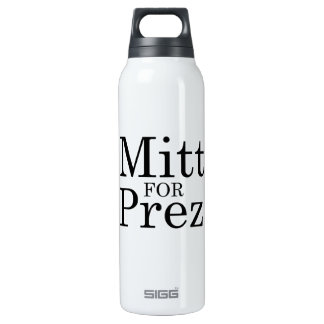 MITT FOR PREZ 16 OZ INSULATED SIGG THERMOS WATER BOTTLE