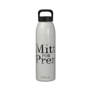 MITT FOR PREZ DRINKING BOTTLES