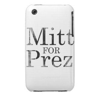 MITT FOR PREZ iPhone 3 CASE