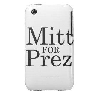 MITT FOR PREZ iPhone 3 COVERS