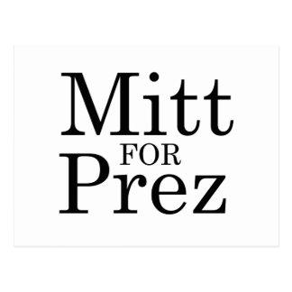 MITT FOR PREZ POST CARDS