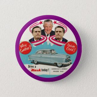 Mitt & George Romney Pinback Button