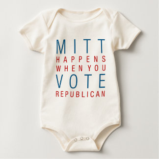 Mitt Happens Baby Bodysuit