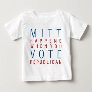 Mitt Happens Baby T-Shirt