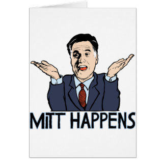 Mitt Happens Card