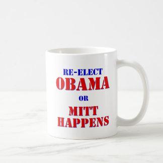Mitt Happens Coffee Mug