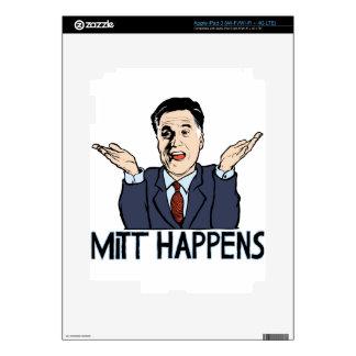 Mitt Happens iPad 3 Skin