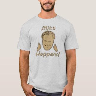 Mitt Happens! (light colors) T-Shirt