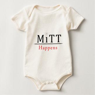 Mitt Happens.png Baby Bodysuit