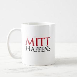 Mitt Happens.png Classic White Coffee Mug