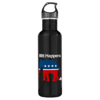 MITT HAPPENS -.png 24oz Water Bottle