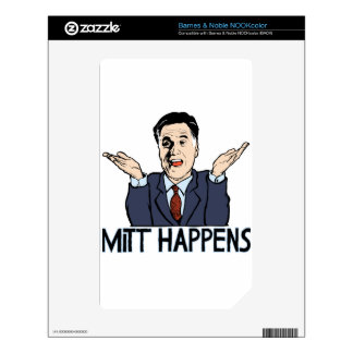 Mitt Happens Skins For The NOOK Color